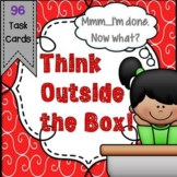 Critical and Creative Thinking Task Cards - Great for Earl