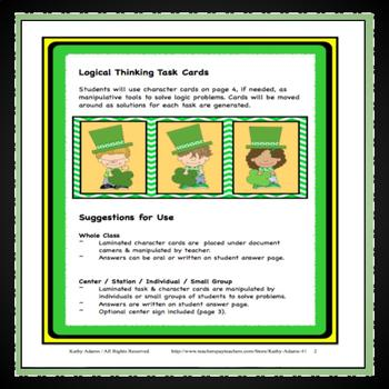 Critical and Differentiated Thinking St. Patrick's Day