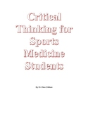 Critical thinking for Sports Medicine