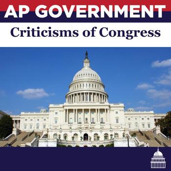 Criticisms of Congress Jigsaw Lesson