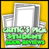 Critic's Pick Student Book Reviews/Recommendations - A.R.