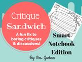 Critique Sandwich - Art Critique (Talk) for All Ages Smart