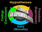 Critique the elements of an experimental design