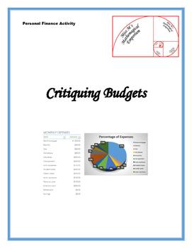 Critiquing Budgets