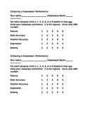 Critiquing a Classmate in Instrumental Music