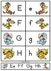 Critter Babies alphabet set