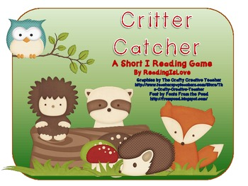 Critter Catcher - A Short i Reading Game