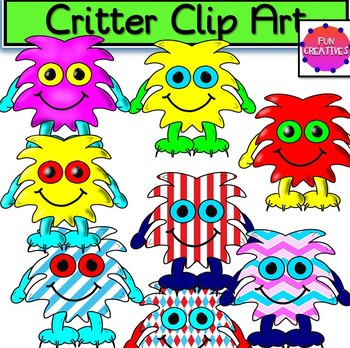 Critter Clip Art-Fun Creatives