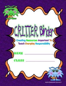 Critter {Monster} Binder Cover