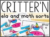 Critter'N ELA and Math Sorts #FLASHBASH