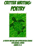 Critter Writing Poetry Elementary Creative Writing Curriculum