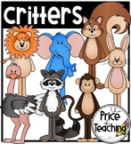 Critters (The Price of Teaching Clipart Set)