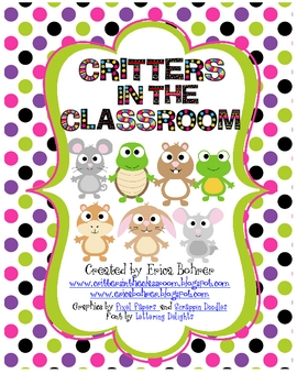 Critters in the Classroom - FREE Guide