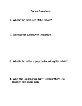 Cro Magnon Man