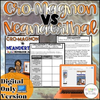 Cro-Magnon VS Neanderthal Activity {Digital}