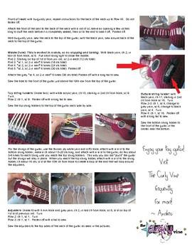 Crochet Acoustic Guitar