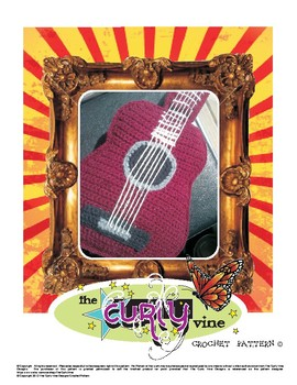 Crochet Acoustic Guitar