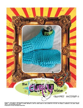 Crochet Drink Mitts Pattern