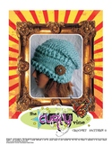 Crochet Slouchy Cable Hat
