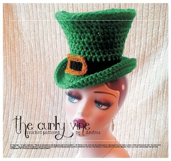Crochet St. Patrick's Day Hat