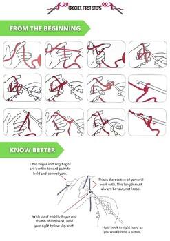 Crochet for girls. First steps.