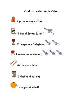 Crockpot Mulled Cider-Visual Recipe
