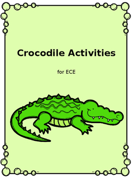 Crocodile Activities for ECE
