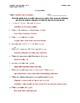 Crocodile Article (Reading Level 1) Comprehension Worksheet