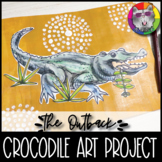 Australian Outback Art Project, Crocodile Art Lesson