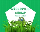Crocodile Chomp Number Editon Game