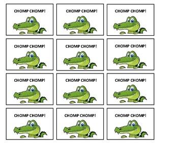 Crocodile Chomp Sight Word Game