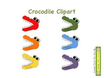 Crocodile Clipart