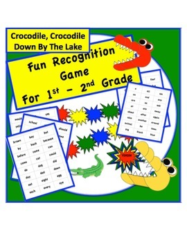 Crocodile, Crocodile Down By The Lake - GAME for 1st - 3rd Grade