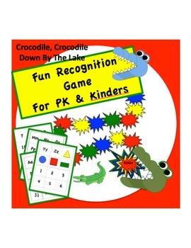 Crocodile, Crocodile Down By The Lake - GAME for PK & Kinders