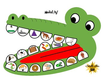 Crocodile Dentist Game Companion-Middle 8 Sounds Bundle