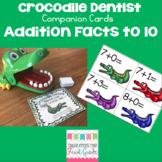 Crocodile Dentist Companion Cards- Addition to 10