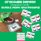Crocodile Dentist Companion Cards Math and Reading