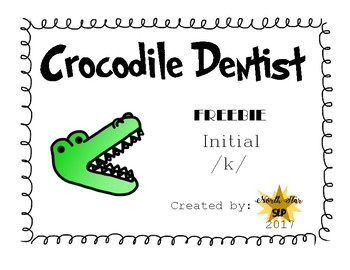 Crocodile Dentist Freebie