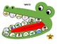Crocodile Dentist: Articulation Game Companion Freebie