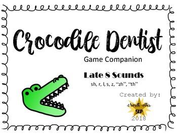 Crocodile Dentist Game Companion-Late 8 Sounds Bundle