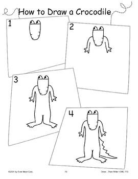 Crocodile (Draw Then Write)