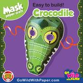 Crocodile Mask | Printable Craft Activity