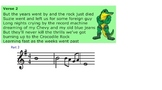 Crocodile Rock Music Smartboard