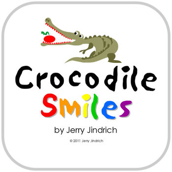 Crocodile Smiles Color Names Activity