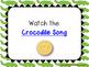 Crocodile Song--A Folk Song w/ Orff instrument accompanime