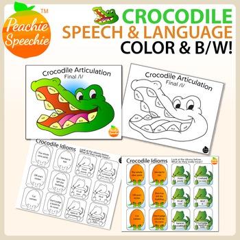Crocodile Speech and Language