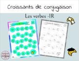 Croissants de Conjugaison - Les verbes -IR - French IR Verbs
