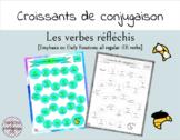 Croissants de Conjugaison - Les verbes réfléchis - French