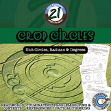 Crop Circles -- Unit Circle, Radian and Degree - 21st Century Math Project