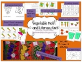 Crop Math and Literacy Unit: Vegetables!